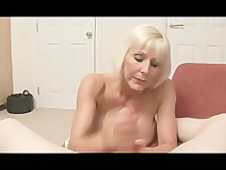 granny bimbo receives mean with a pecker pov