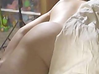 hubby films wife massage