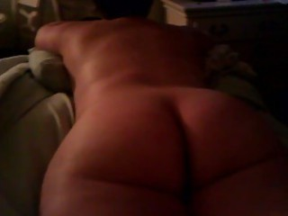 nude wife watching tv