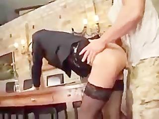 german porn: boss receives a massive cock