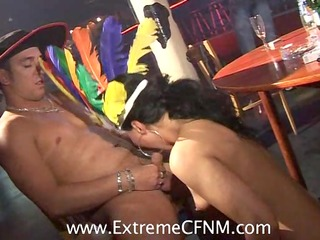 cheating wives girlfriends fuck female strippers