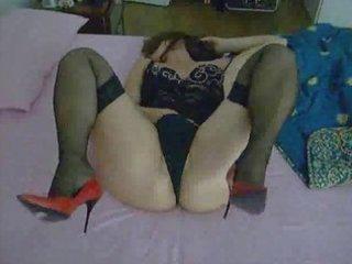 my wife masturbating