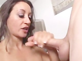 Nasty Mouth Iranian Paki Aunty gets first Short