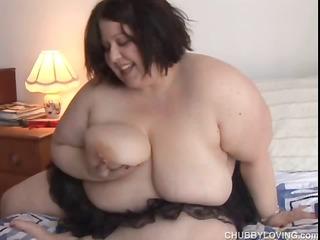 nice-looking big love melons big beautiful woman