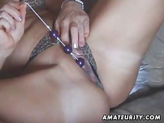 breasty amateur mother i toys and sucks with