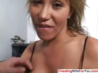 avid abode wife acquires a facial