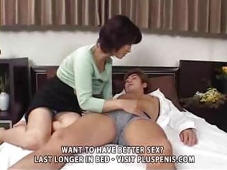 entreats mom and son with sex tool part6
