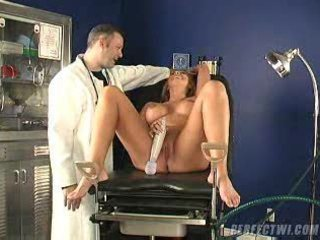 doctor and his assistant takes care of milf s