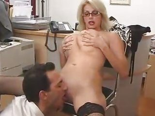 large titted mom with her boss...f107
