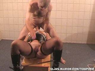 serf wife marion dominated by two guys