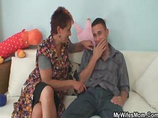 cock hungry mom jumps on her daughters bf
