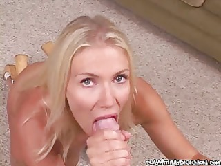 spectacular oral job that ends in a jizz eating