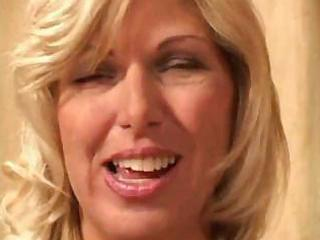 mature golden-haired can fucking with her fishnet