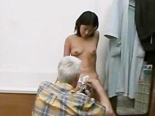 grandpa and juvenile girl
