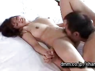 Nonoka Hana - Japanese MILF ravaged in the bed