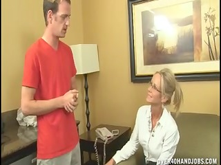 naughty older lady can not live out of jerking