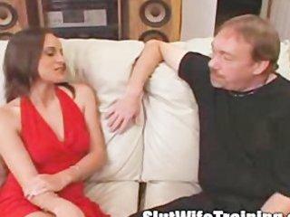 voyeur husband sends wife to bitch training