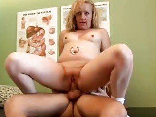 hot golden-haired d like to fuck heidi enjoys a