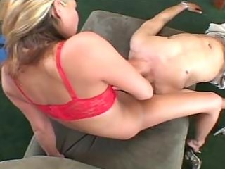 golden-haired sexy momma plays sweet cum-hole for