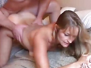nice-looking older golden-haired likes to fuck