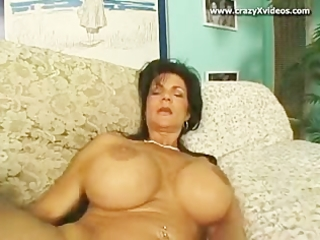 enormous titty aged bitch group-fucked