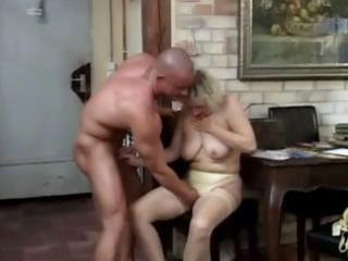 nylons granny copulates