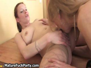 horny older housewives fully enjoying part8