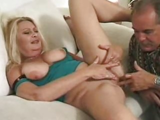 older blond receives cum-hole lickedass screwed