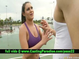 charley pursue marvelous brunette teasing coach