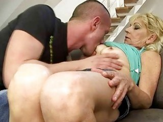 hawt grandma fucking with her juvenile paramour
