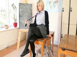 lovely teacher teasing body just for you