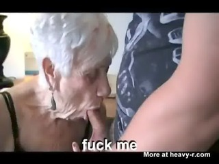skater boy fucking his grandma