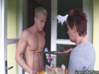 granny allows him to tempt her