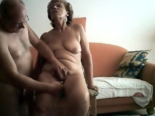 sexually excited granny acquires her bawdy cleft
