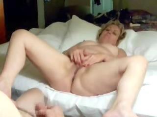reciprocal masturbation with my old slut