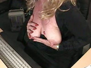 fat mature sweetheart fondles and fill her