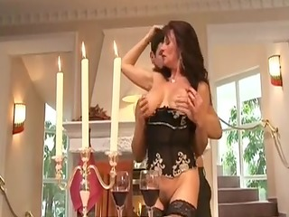 Mature Doxy Group-Fucked By Rich Man