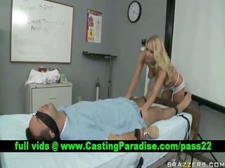 riley evans breathtaking nurse blowjob