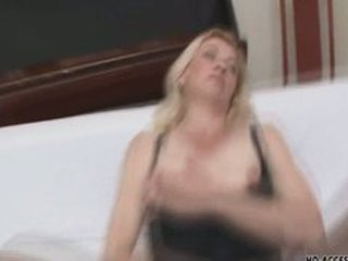 kinky aged blonde in wild groupsex!