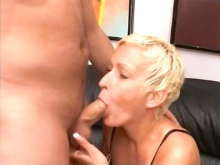 blond aged having bawdy cleft fisted hard
