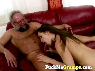 suzie enjoys them old and unshaved