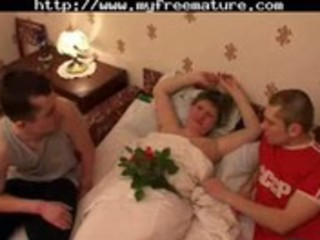russian mama team-fucked by snahbrandy mature