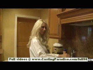 jazy berlin teen blond babe with large breasts