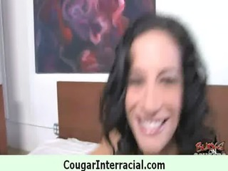 hawt cougar acquires drilled by young black