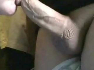 my wife engulfing my cock