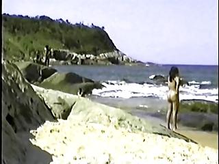 my exibitionist wife beatrice on beach 4