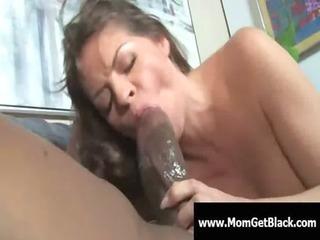 mom going dark - busty milf interracial oral-sex