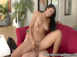 luscious swarthy hotty with hot body goes down on