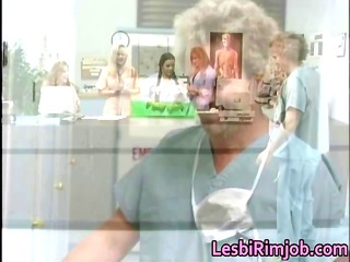 horny lesbo nurses booty ass drilling free part9