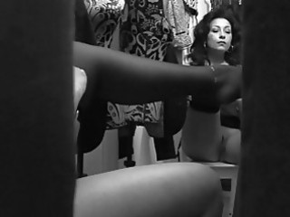 spycam records breasty momma changing clothing in